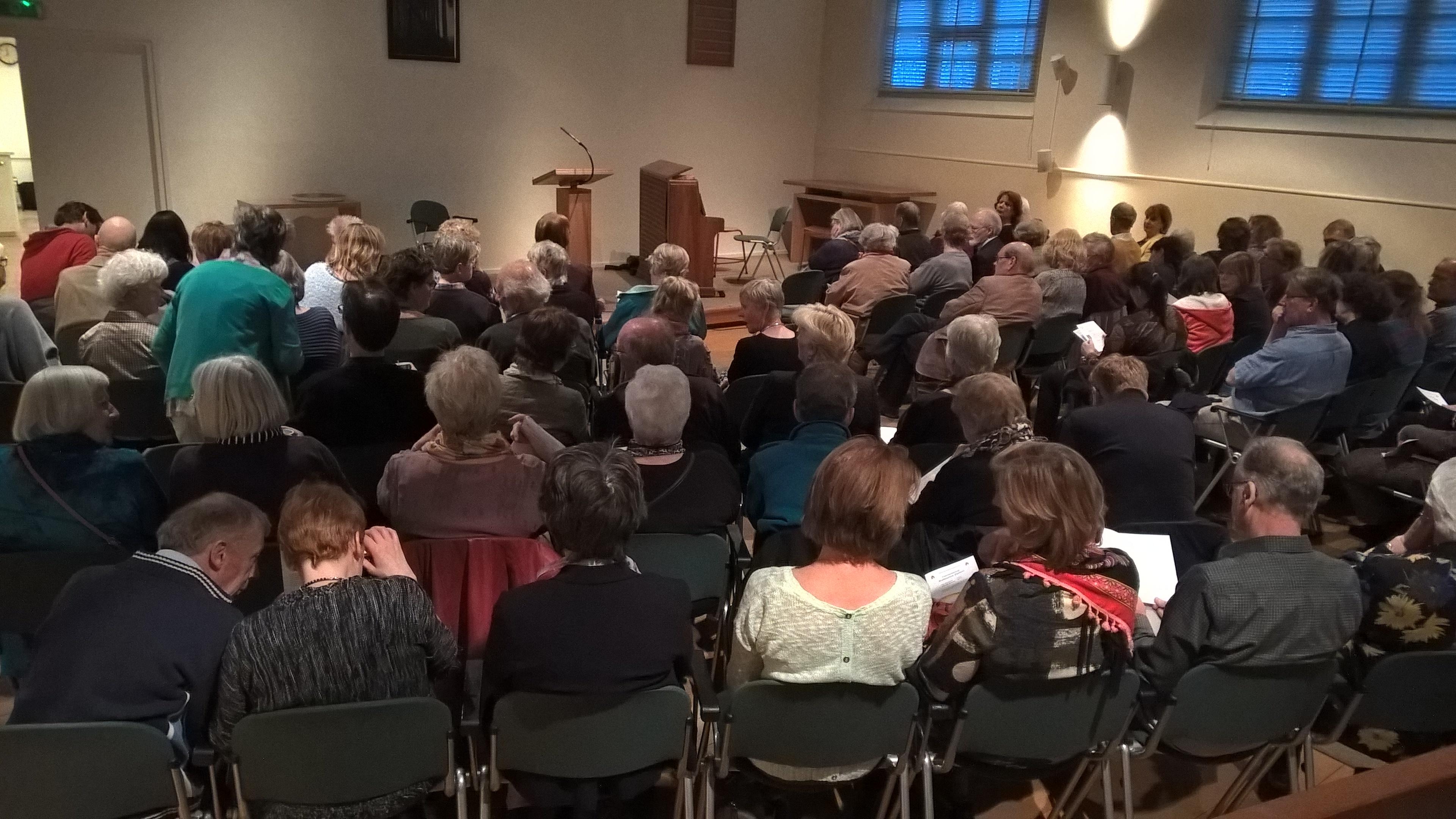 Poëziefestival in Kleine Kerk met thema 'Ongehoord'