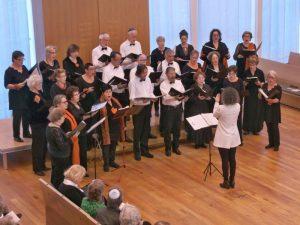 Joods  a Capella Koor Rénanim zingt Hebreeuwse liederen