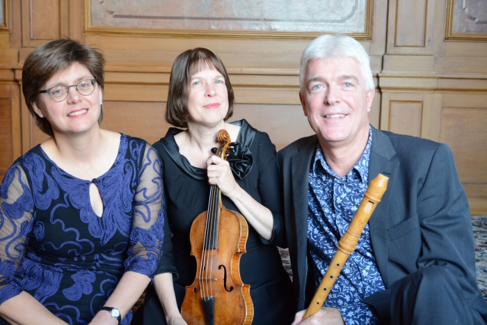 Musica Batavia: barokmuziek op blokfluit, barokviool, clavecimbel en orgel