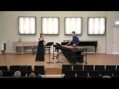 Zomerconcert in De Kleine Kerk: Mirna Ackers, fluit en Koen Slootmans, marimba