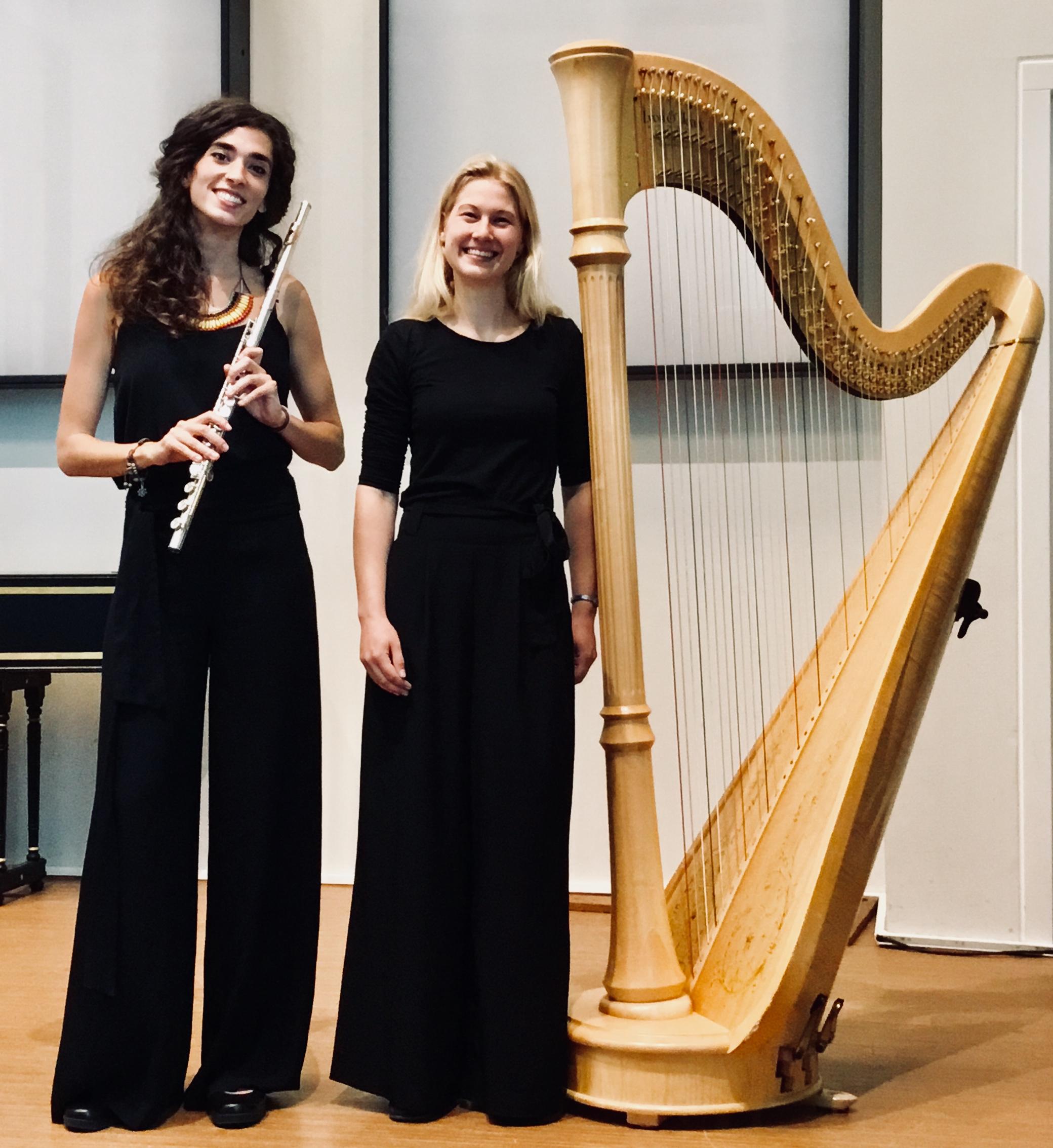 Zomerconcert in De Kleine Kerk: Majsa Koperberg, harp en Maria Cristina Gonzalez, fluit